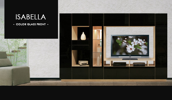 Isabella Entertainment Center Wall Unit