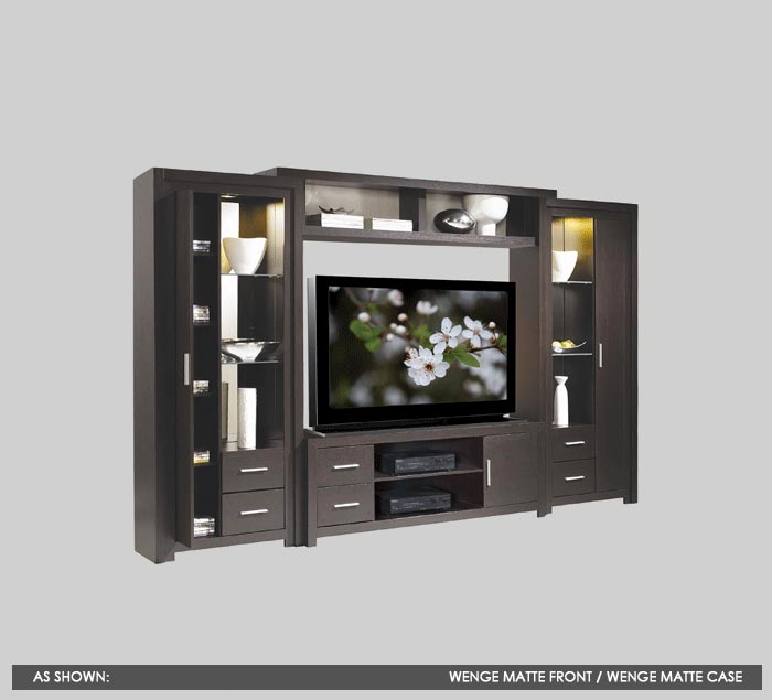 Modern Furniture Entertainment Center custom wall units and custom entertainment centers | contempo wall
