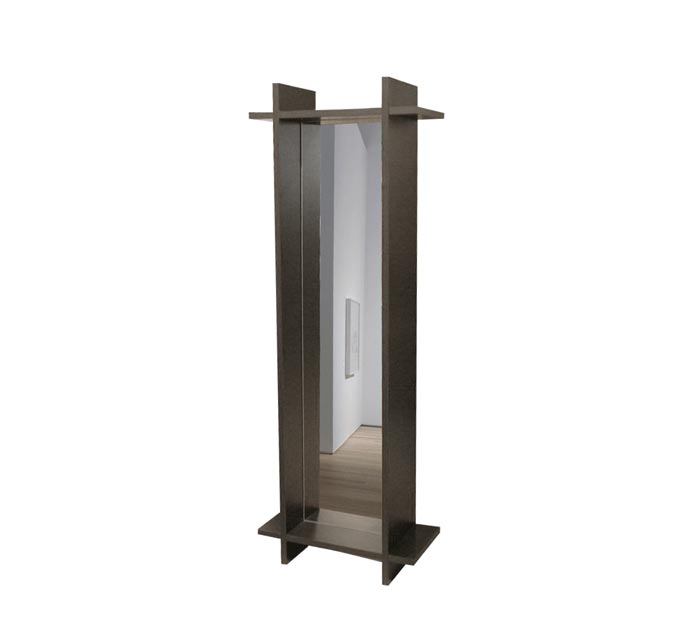 Standing mirror accessories contempo wall for Standing glass mirror