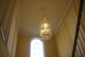 High ceilings look great but they can easily swallow the rest of a room