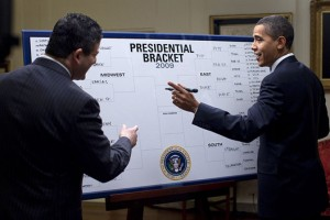 Even Barack Obama is filling out a bracket!