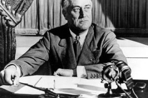 FDR connected to the people with his fireside chats