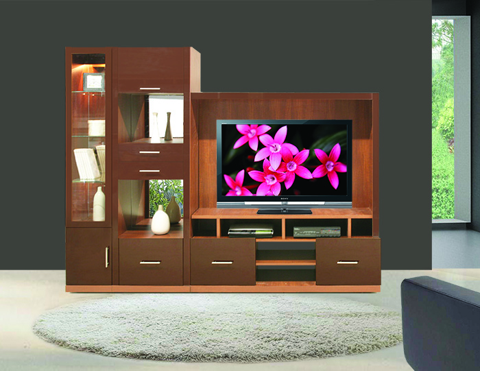 Selma Home Entertainment Wall Unit