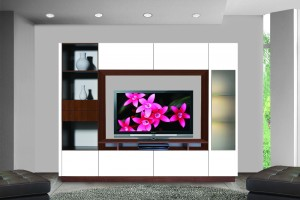 Let your entertainment system grow because Contempo Wall can help you keep it simple.