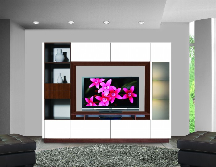 Contempo Wall Unit Making The Most Of Simplicity