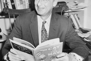 "Dr. Seuss authored several children's classics including ""The Cat in the Hat,"" ""Horton Hears a Who,"" and ""How the Grinch Stole Christmas"""
