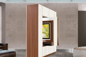 Use the Bronson Room Divider to bring a new center to your space