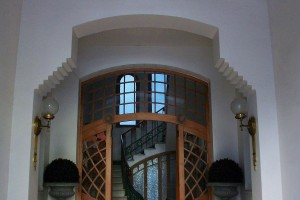 The vestibule is the first thing anyone sees upon entering your home - make sure they get a good first impression